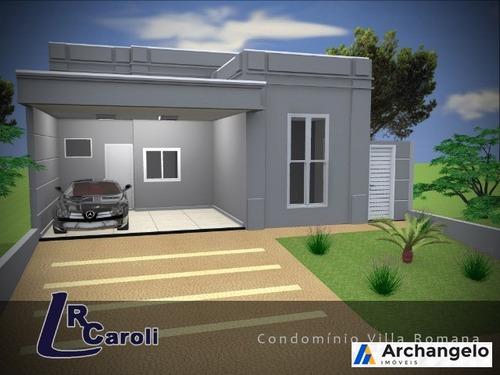 casa para venda no condomínio villa romana i - ca00493 - 4839588