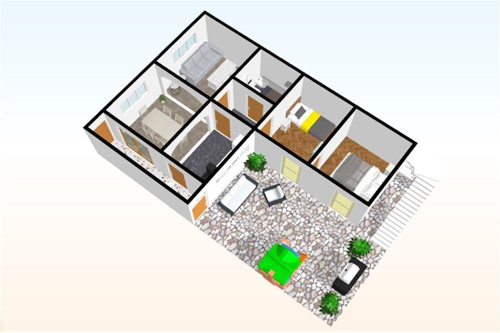 casa, parrilla, patio y terraza!!!