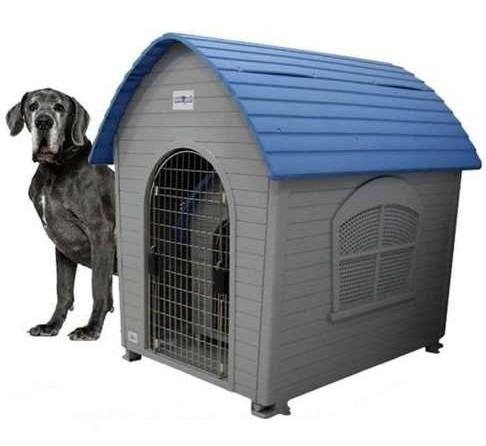 casa perro gigante, 110 cm. de alto, importada, de lujo