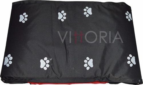 casa perro plegable davivienda 1 en lona resistente 55x55cm