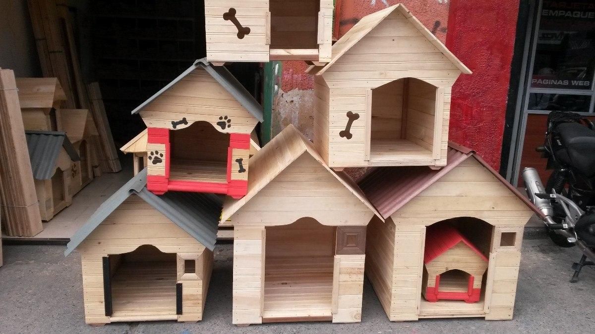 Casa perros en madera peque a 40x40x50 teja plastica madera en mercado libre - Casa madera pequena ...