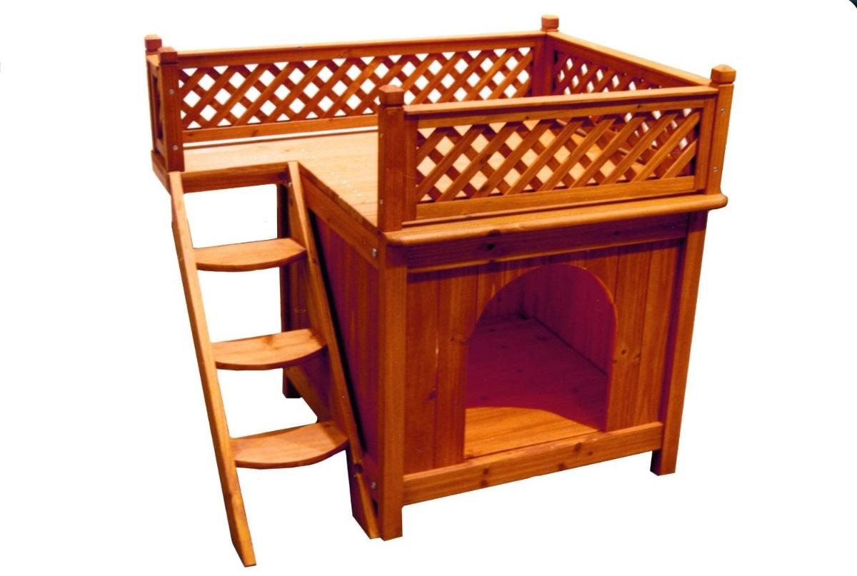 Casa casita para perros mascotas madera vv4 2 en mercado libre - Casas para perros pequenos ...