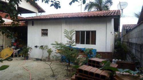 casa perto da praia, em itanhaém! lote amplo