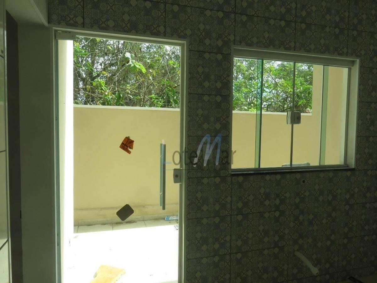 casa - peruíbe - 3 quartos - litoral - direto com proprietário - ca0002