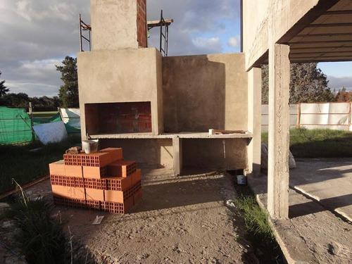casa - pilar- en construcción- haras del sol