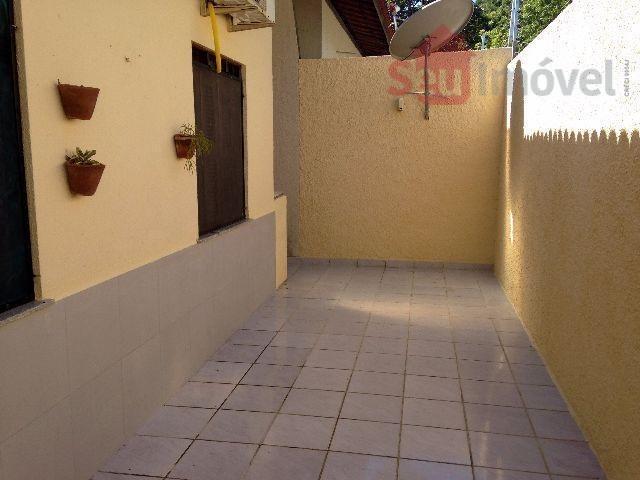 casa plana em condomínio fechado na lagoa redonda - ca0297