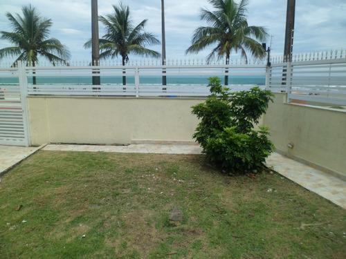 casa praia com piscina  frente mar