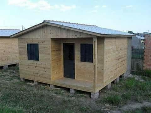 casa pre fabricada em pinus 5,40*5,40