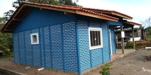 casa pré moldado de concreto