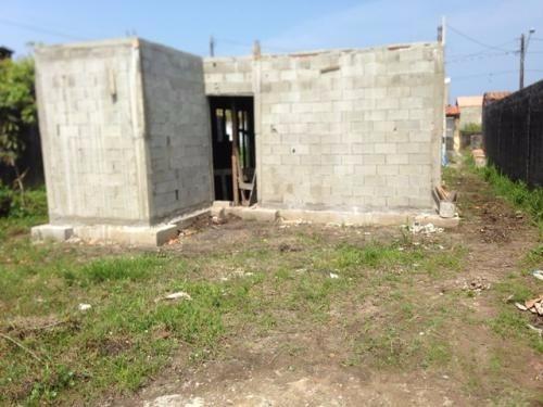 casa precisando de acabamento na praia em itanhaem sp