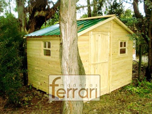 casa prefabricada cabaña