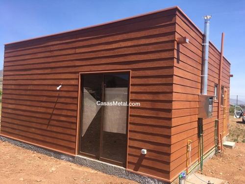 casa prefabricada metalcon mediterráneo nativa 40m2