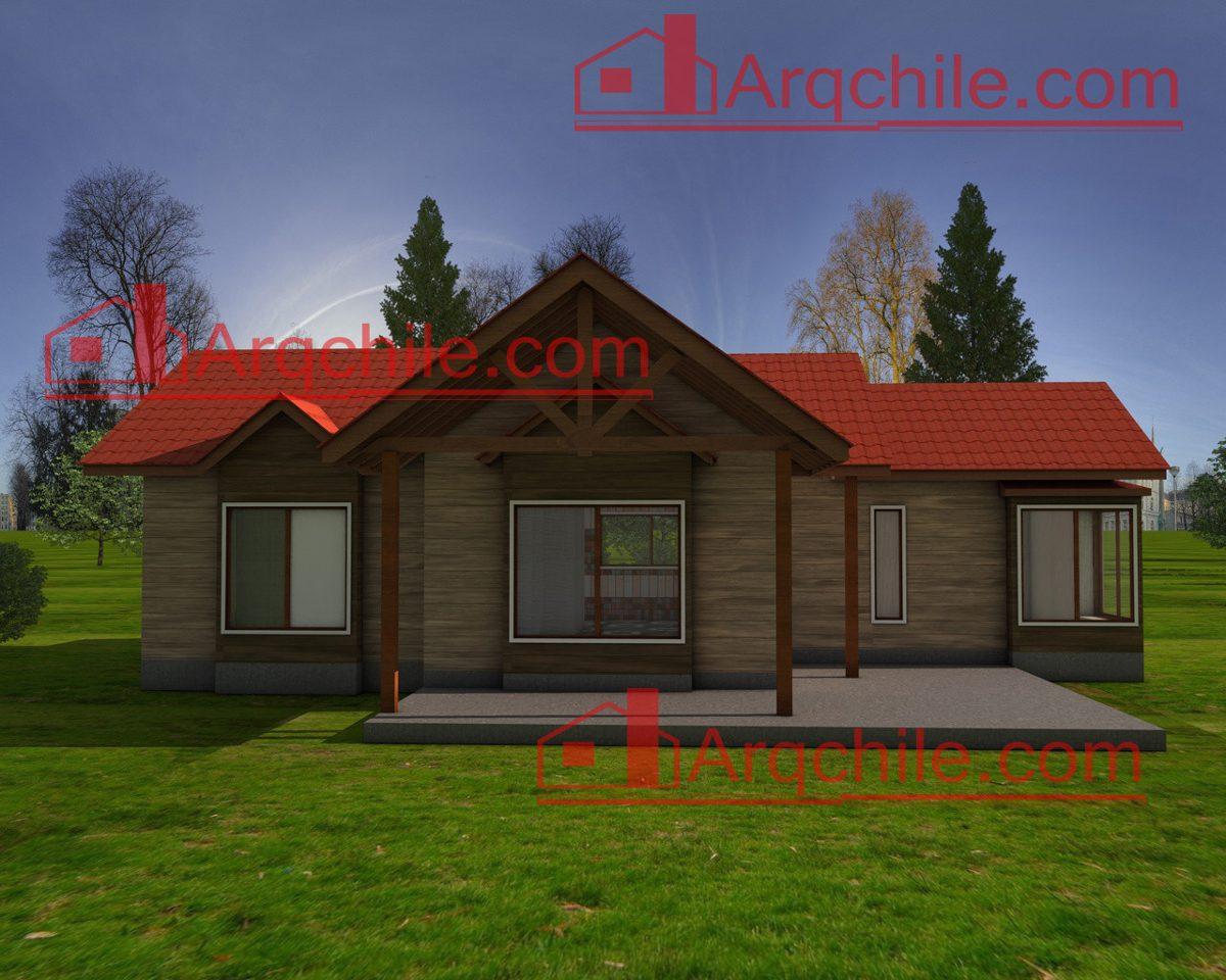 Casa prefabricada modelo curico 2 80 m2 en - La casa prefabricada ...