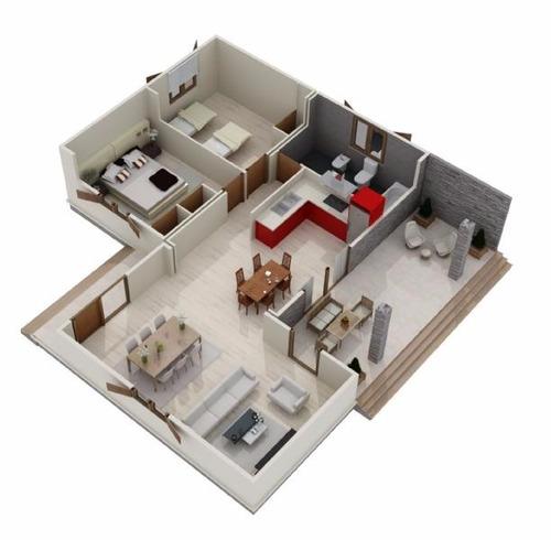 casa preffabricada en kit. 84 autoconstruccion. hagaselo ud.