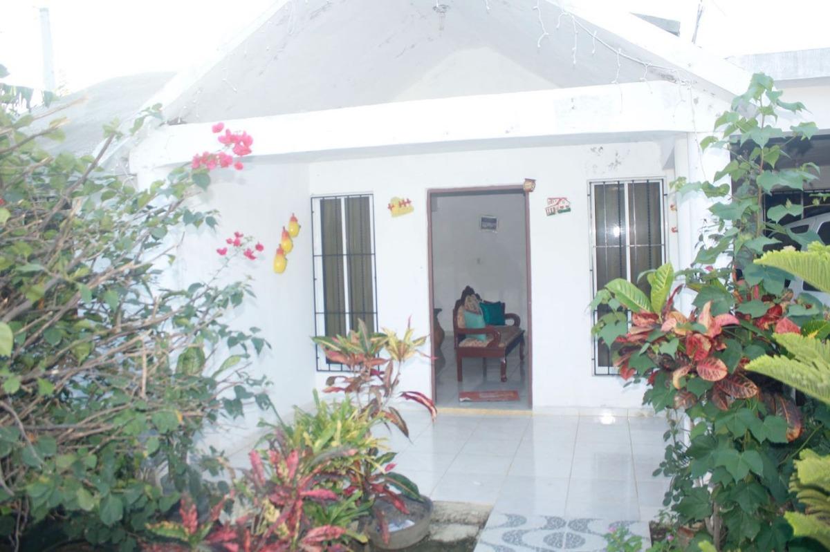 casa proximo al cruce de guayacanes en laguna salada de mao