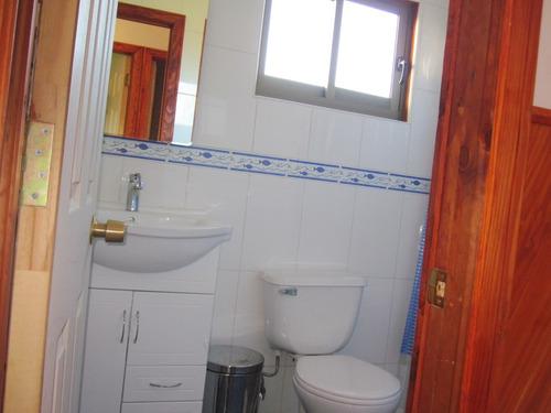 casa pucon 4 dormitorios, 3 baños, 190 m2, terraza, vista al