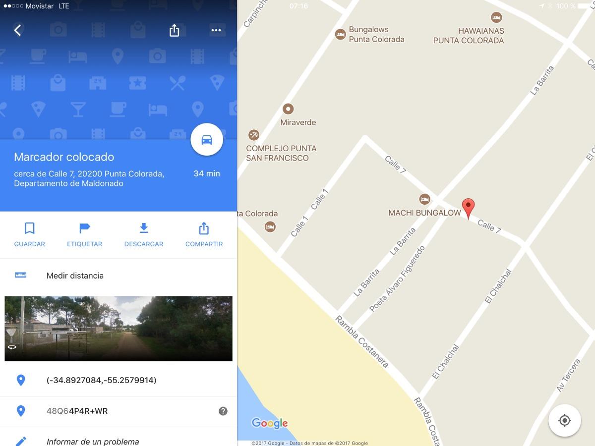 casa  punta colorada en piriapolis de lu a ju $ 1300