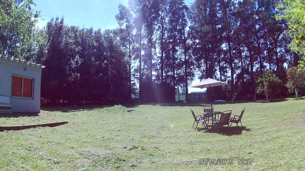 casa quinta 3 ambientes, arboles frutales, 14 pinos, roble