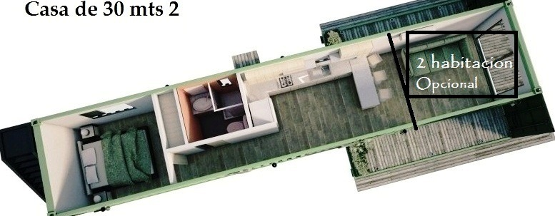 casa quinta contenedor casa de campo 34