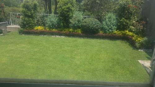 casa recién remodelada con gran jardín