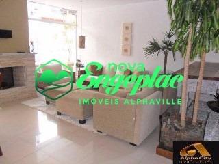 casa residencial 4 alphaville sp  terreno 300m2 área construída 290m2 - ca00830 - 4760536