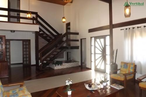 casa residencial a venda, condominio granja viana ii, granja viana - v-3245
