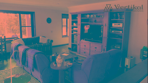 casa residencial a venda, condominio nova higienopolis, granja viana - v-3374