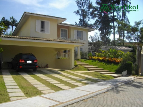 casa residencial a venda, condominio orvalho, granja viana - v-747