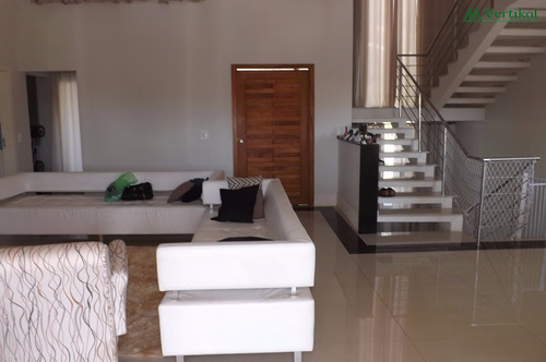 casa residencial a venda, condominio parque das artes, granja viana - v-3249