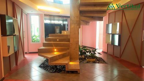 casa residencial a venda, condominio paysage noble, granja viana - v-3267
