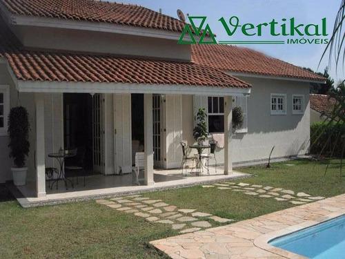 casa residencial a venda, condominio saint george, granja viana - v-3256