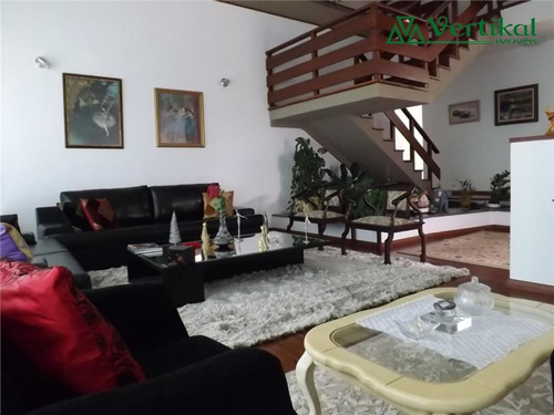 casa residencial a venda, condominio sao paulo ii, granja viana - v-1618