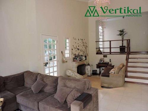 casa residencial a venda, condominio sao paulo ii, granja viana - v-491