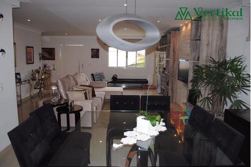 casa residencial a venda, condominio solar dos nobres, granja viana - v-3333