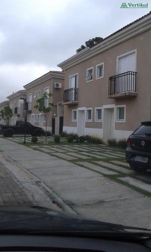 casa residencial a venda, condominio via das magnolias, granja viana - v-3190