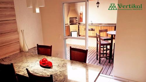 casa residencial a venda, condominio vila deste, granja viana - v-3186