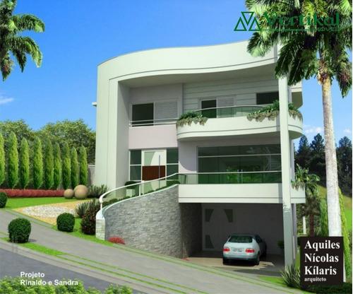 casa residencial a venda, condominio vintage - granja viana - v-1317