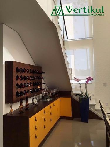 casa residencial a venda, condominio vintage, granja viana - v-2566