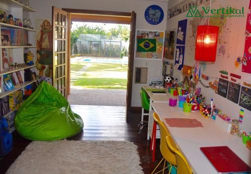 casa residencial a venda, fazendinha, granja viana - v-3268