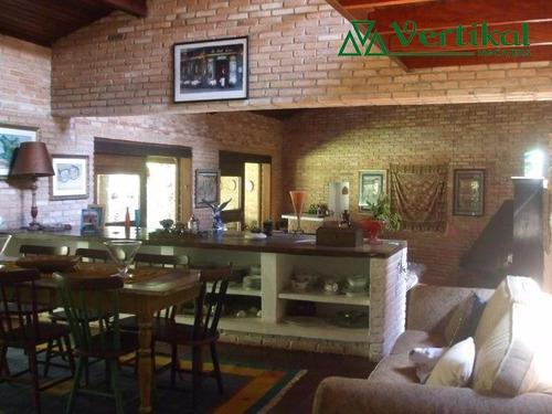 casa residencial a venda, forest hills, granja viana - v-2993