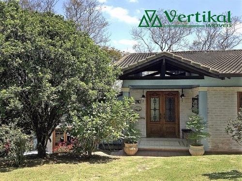 casa residencial a venda, forest hills, granja viana - v-3027