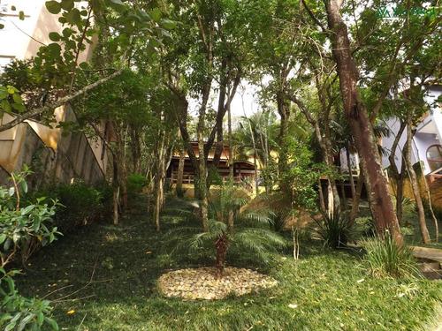 casa residencial a venda, forest hills, granja viana - v-3057