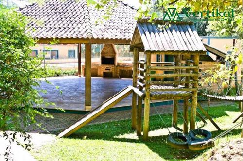 casa residencial a venda, forest hills, granja viana - v-381