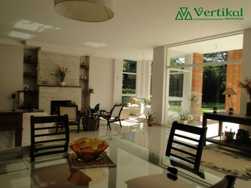 casa residencial a venda, forest hills, granja viana - v-476