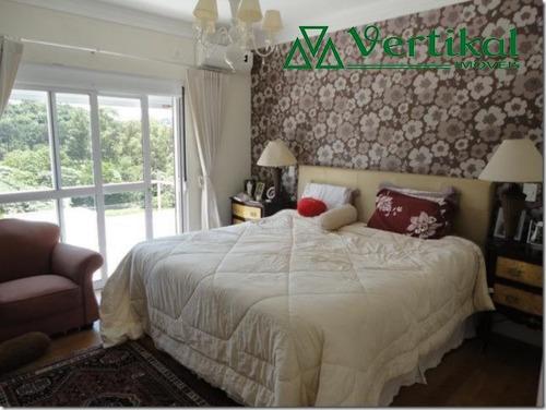 casa residencial a venda, golf village, granja viana - v-566