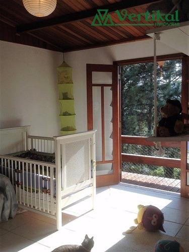 casa residencial a venda, granja carneiro viana, granja viana - v-3166