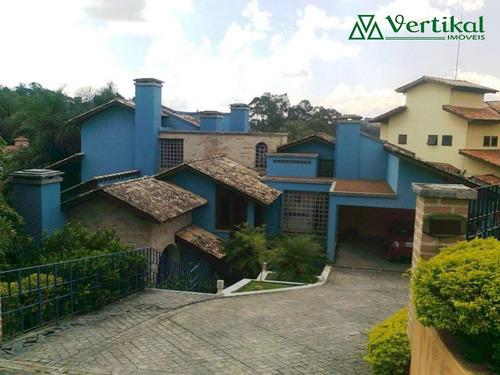 casa residencial a venda, granja viana ii - v-718