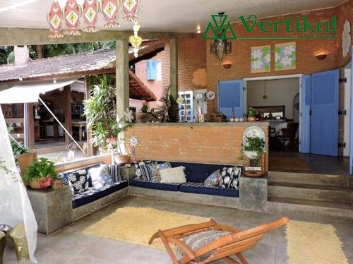 casa residencial a venda, parque do refugio, granja viana - v-3184