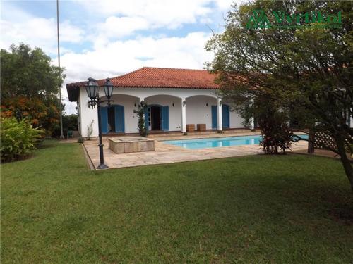 casa residencial a venda, sao fernando golf club - v-507