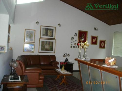 casa residencial a venda, sao fernando golf, granja viana - v-175